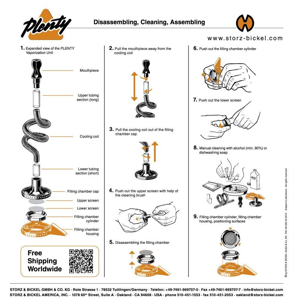 Plenty Vaporizer Quick Start Guide Pg2