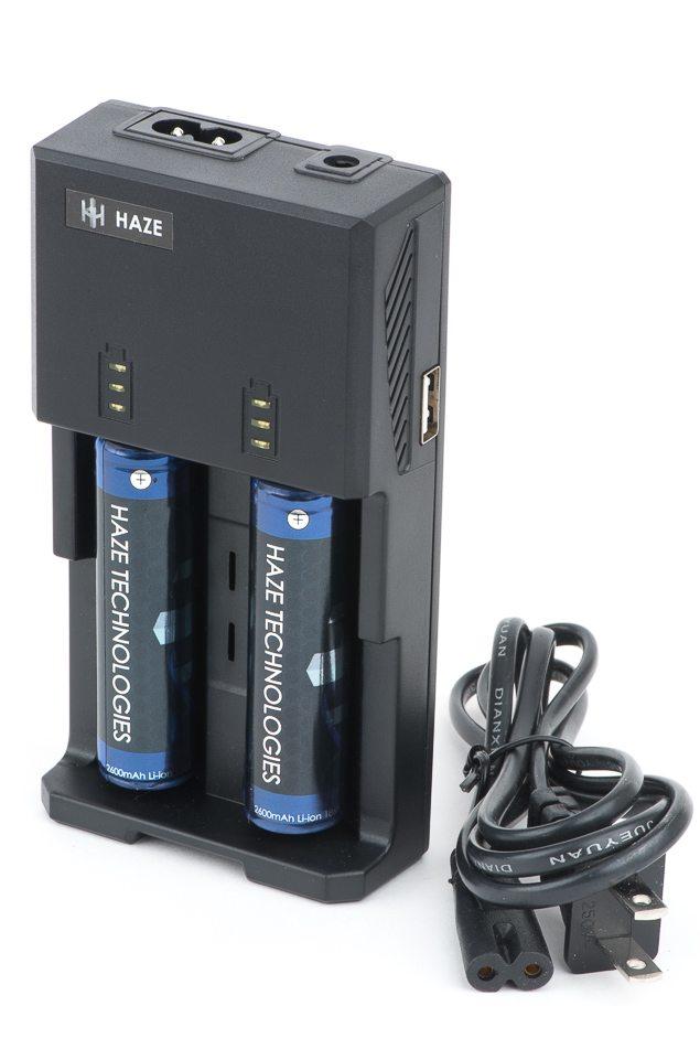 Haze Vaporizer Charger and Batteries