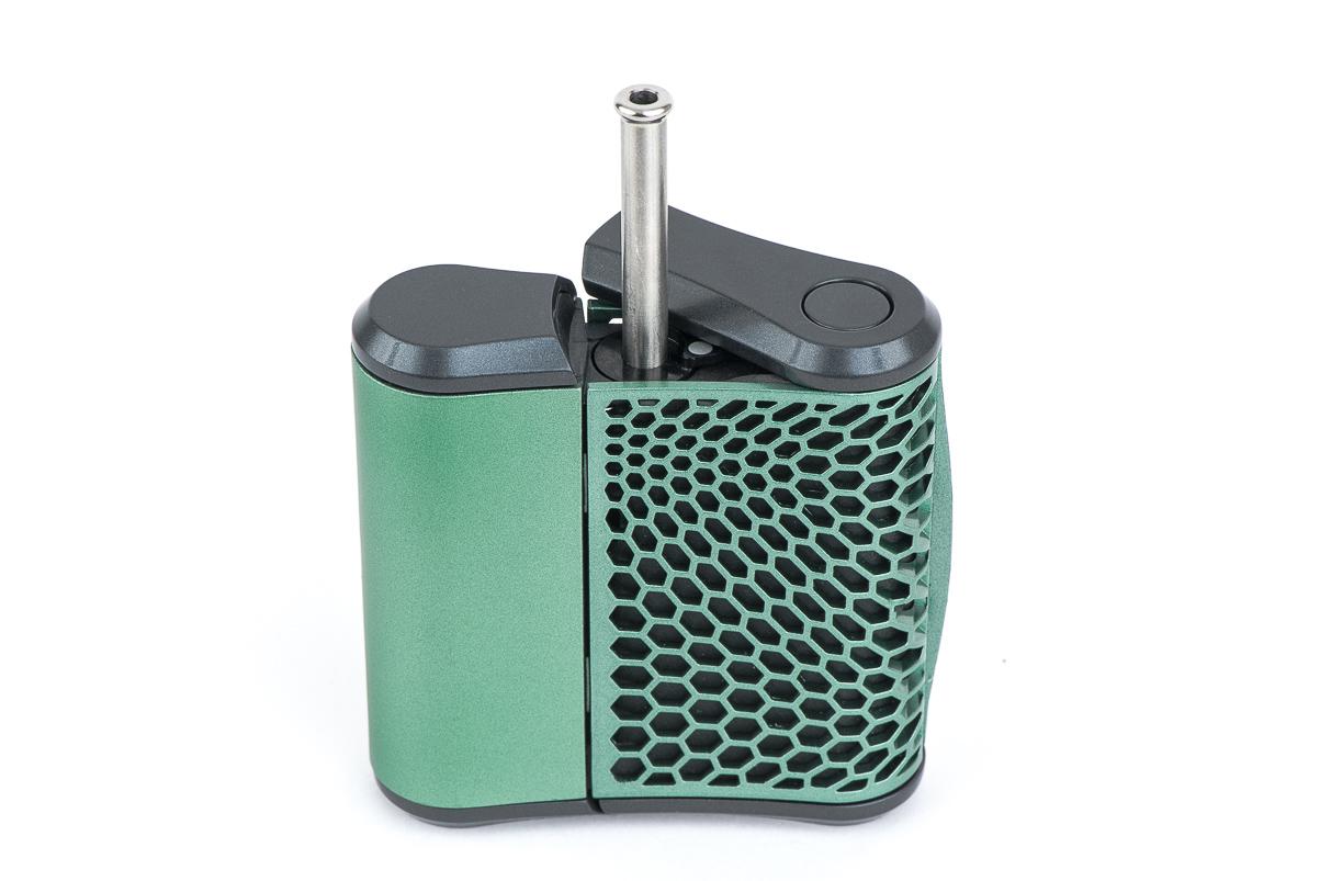 Haze Vaporizer with Steel Mouthpiece
